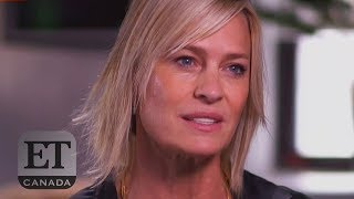 Robin Wright Responds To Kevin Spacey's Firing