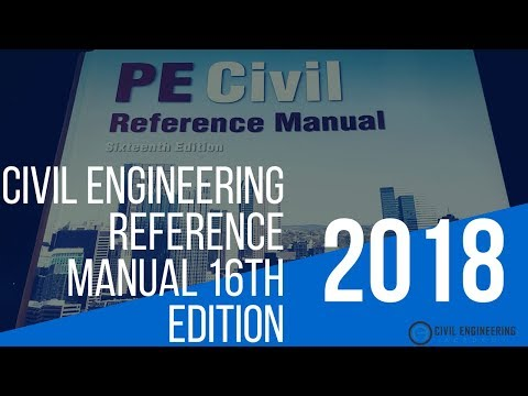 "Civil Engineering Academy - Civil Engineering Reference Manual ""CERM"" 16th Edition Book Review"