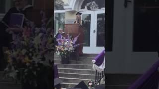 Kosara Tsoneva-Valedictorian Speech at the American College of Sofia