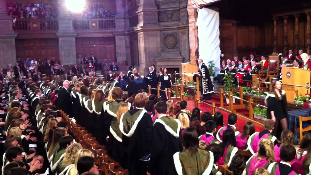 Graduation Ceremony University Of Edinburgh Medical