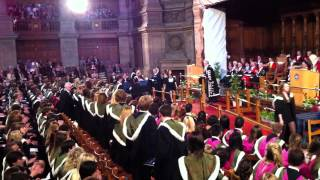 Graduation Ceremony University of Edinburgh , Medical Biology , 22.6.2012
