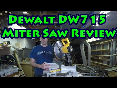 "Review Of The Dewalt DW715 12"" Compound Miter Saw"