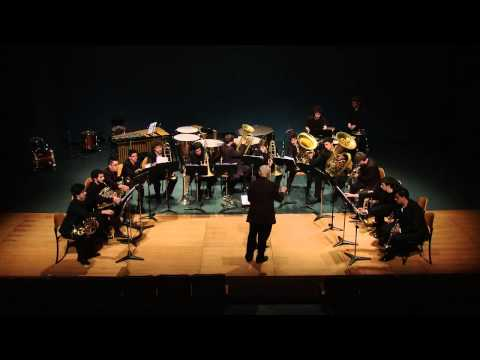 Flying Circus by Jim Self for Large Brass Ensemble & Percussion