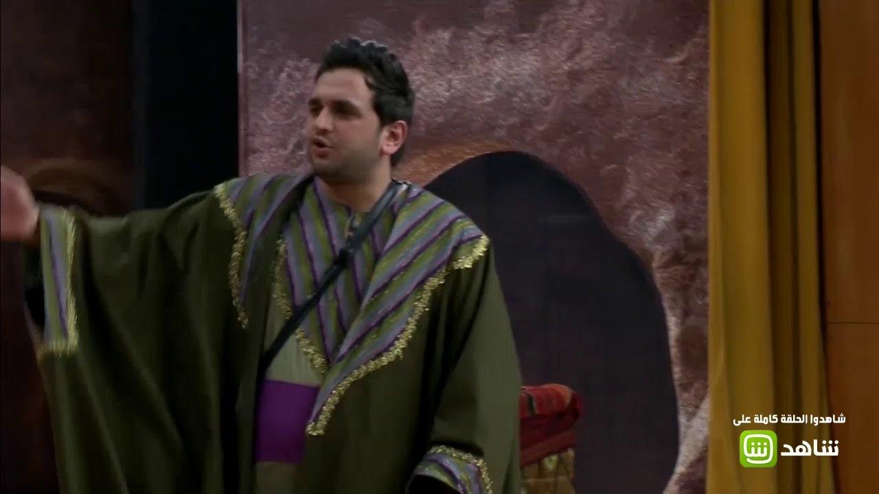 #مسرح_مصر  مصطفى خاطر وحمدي ميرغني في مشهد كوميدي على طريقة الكفار