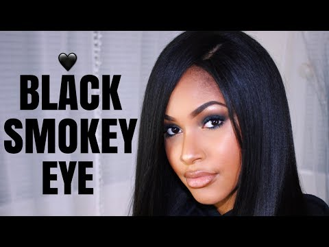 How to: Black Smokey Eye Makeup Tutorial for Beginners