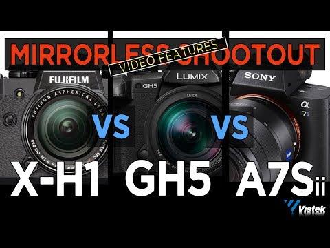 XH1 Vs GH5 Vs A7Sii