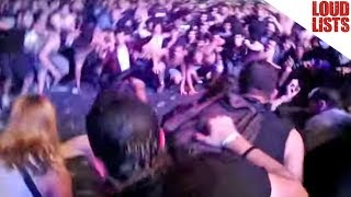 """10 Epic Slipknot """"Jump the F--k Up"""" Moments"""
