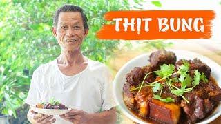 Ông Thọ Làm Thịt Bung Mềm Thơm, Đậm Đà Cực Hao Cơm | Stew Pork