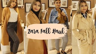 ZARA FALL STYLING TRY-ON HAUL + LOOKBOOK 2018