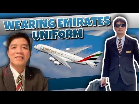 WEARING EMIRATES UNIFORM 2020 | FOR THE LAST TIME | FORMER EMIRATES AIRLINE CREW | VLOG #15