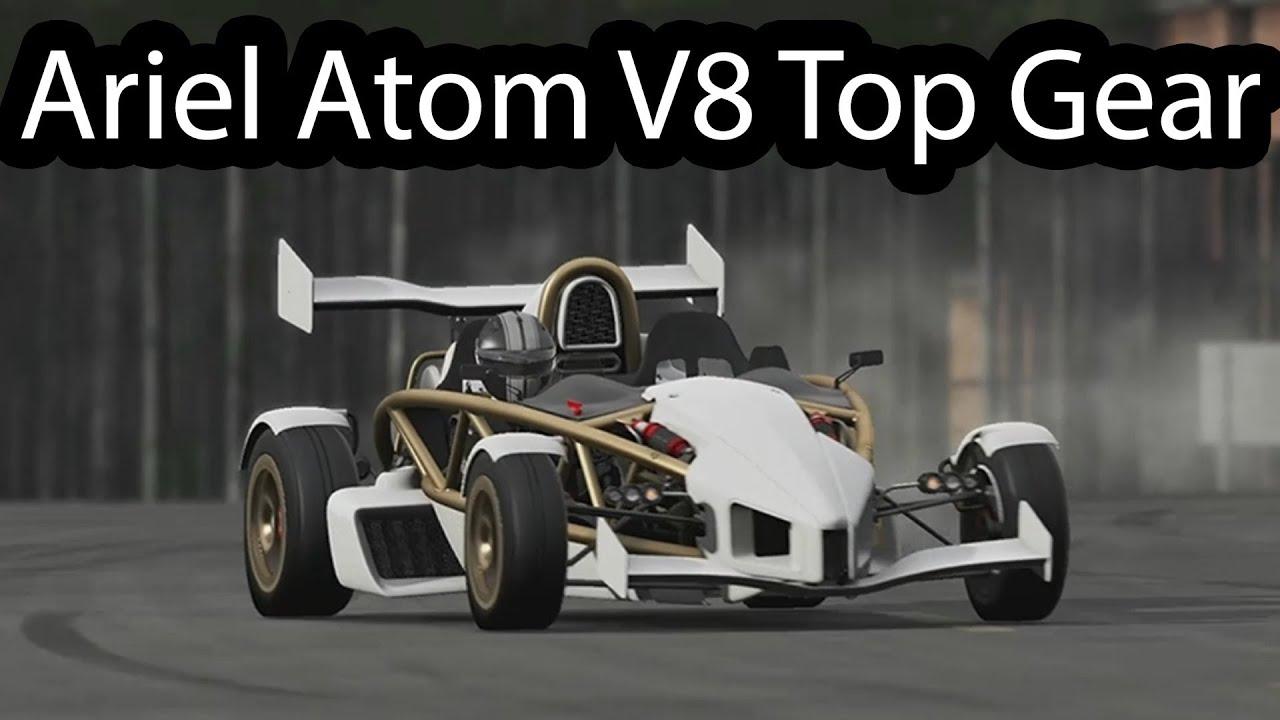 Ariel Atom V8 >> Ariel Atom V8 around Top Gear Track - YouTube