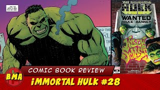 Review of Immortal Hulk #28 | The New World