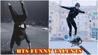BTS (방탄소년단 / 防弾少年团) Funny Talents Subscribe Free: https:/...