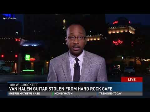 Van Halen guitar stolen from Hard Rock Cafe San Antonio