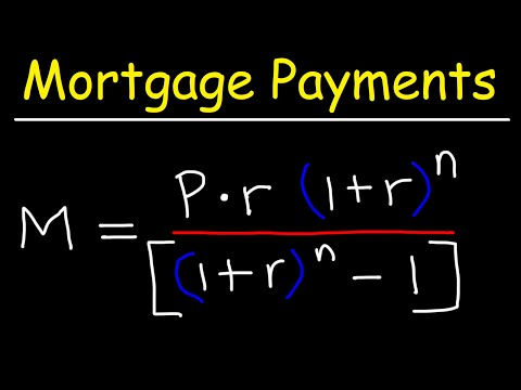 How To Calculate Your Monthly Mortgage Payment Given The Principal, Interest Rate, & Loan Period