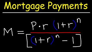 How To Calculate Y๐ur Monthly Mortgage Payment Given The Principal, Interest Rate, & Loan Period