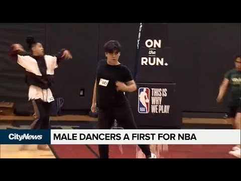 Men Audition For First-ever Co-ed NBA Dance Team
