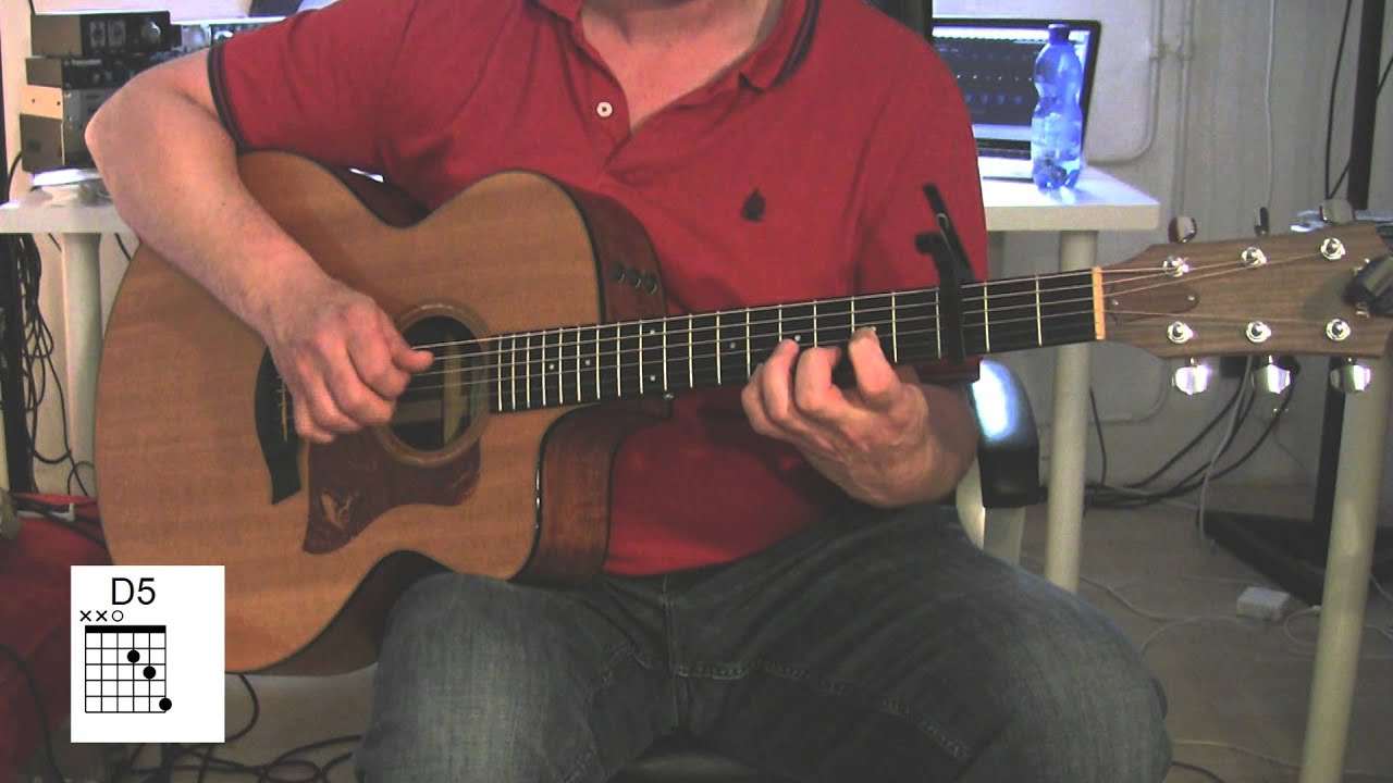 Just The Way You Are Acoustic Guitar Chords Original Vocal