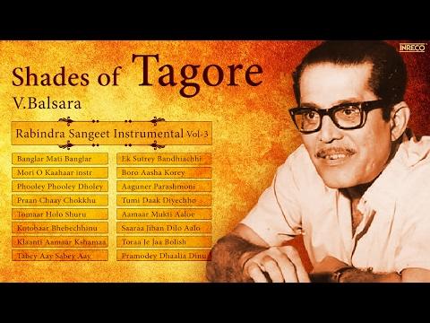 Rabindra Sangeet Evergreen Instrumental Collection | V Balsara | Tagore Instrumental