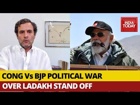 Rahul Gandhi Questions PM Modi On Ladakh With Video, BJP Counters Rahul's Claim.