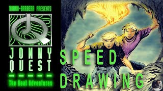 Jonny Quest (The Real Adventures) | Speed Drawing