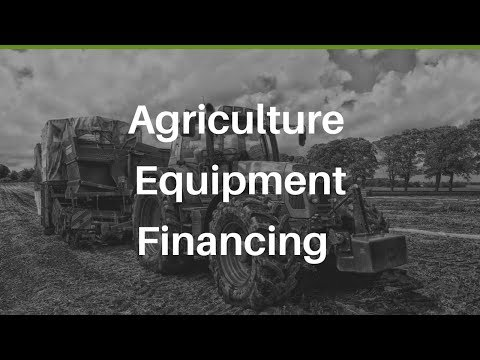 Agriculture Equipment Financing With Envision Capital Group