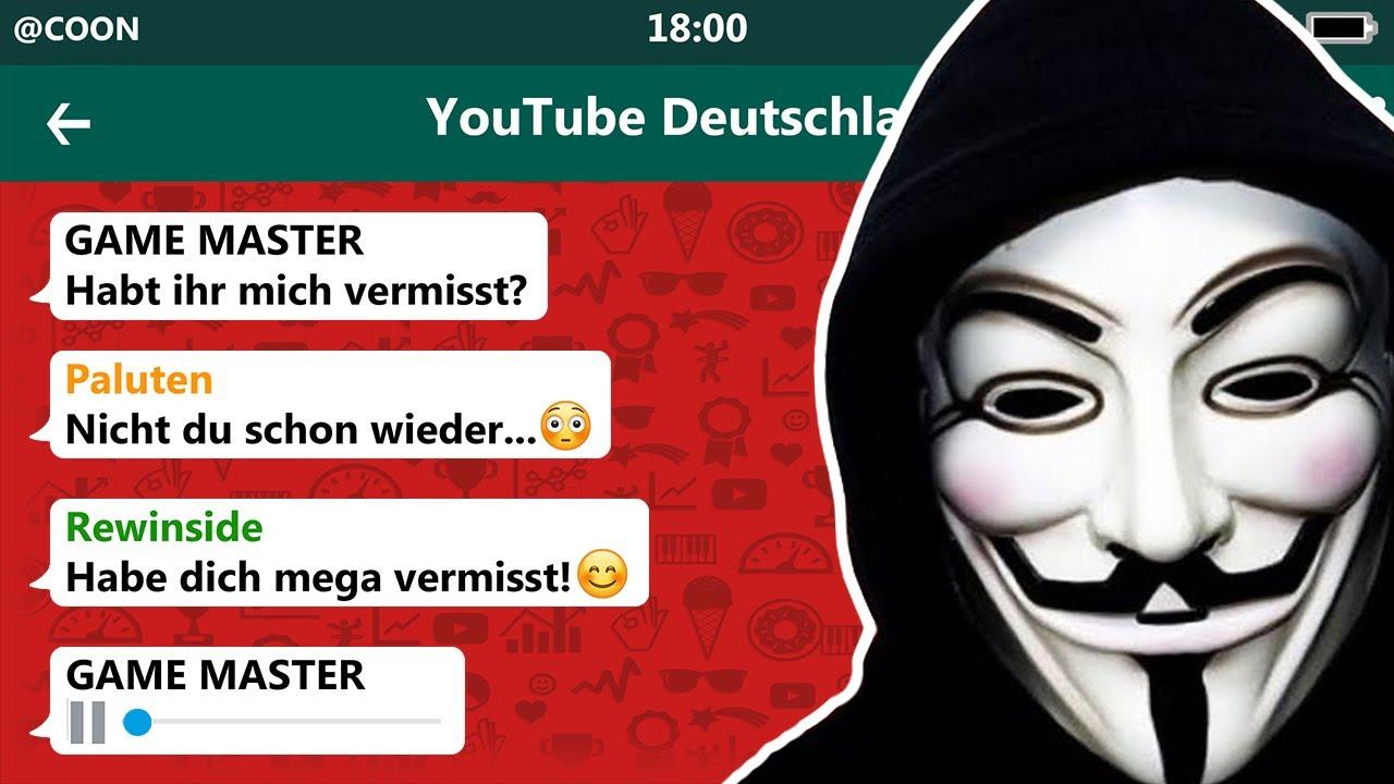DER GAME MASTER IST ZURÜCK! 😱 | YouTuber in einer WhatsApp