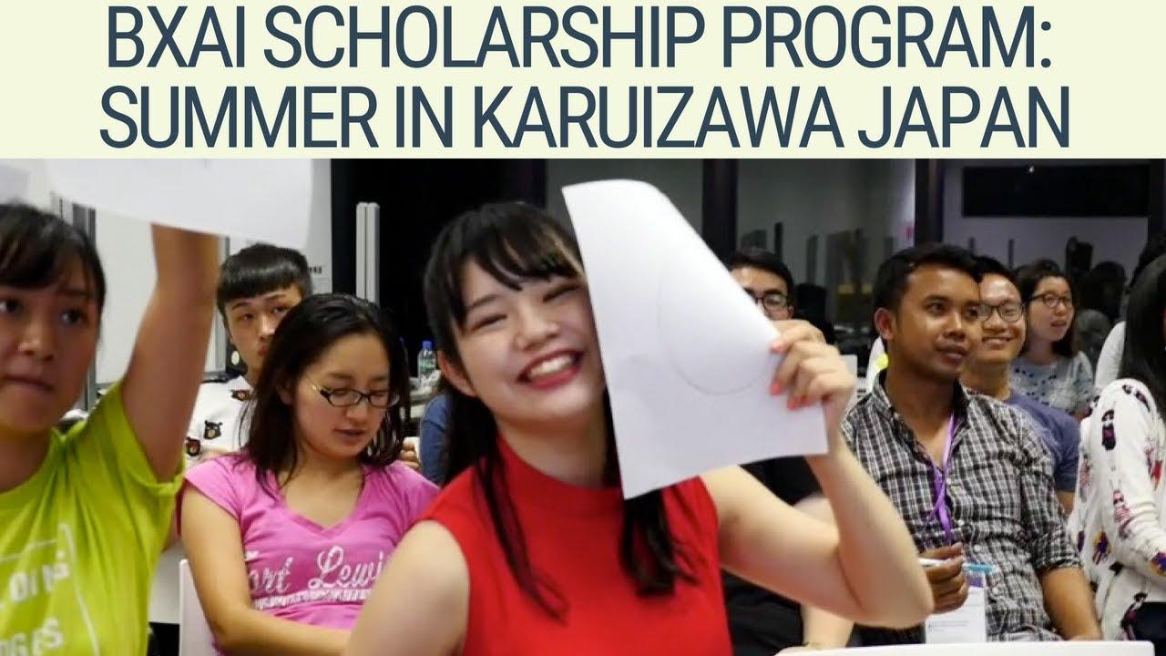 Building Bridges Across Cultures The Bai Xian Asia Institute Scholarship Program Japan Vlog