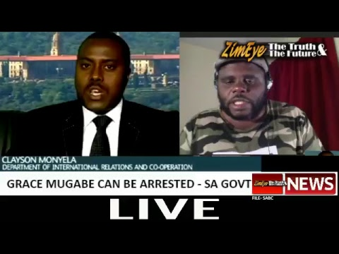 BREAKING NEWS - GRACE MUGABE CAN BE ARRESTED, SAYS SOUTH AFRICAN GOVT