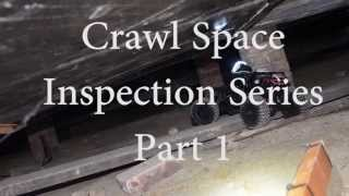 Crawl Space Inspection Remote Control Car Part 1