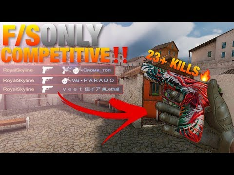 Standoff 2 Pro Venom F/S Only Competitive Ranked Gameplay 23+ Kills‼️