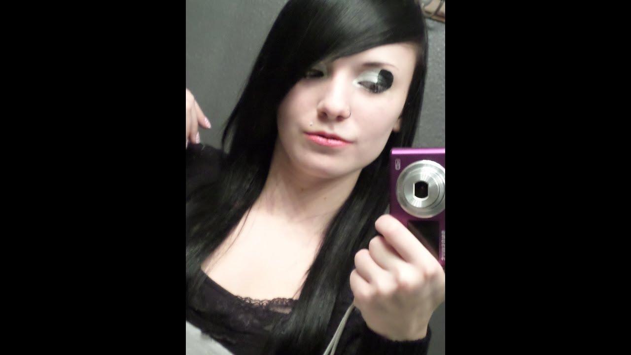 Emo Makeup Tutorial #5 (Black And White)