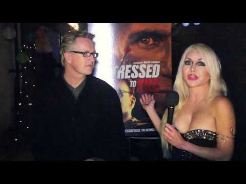 "Filmmaker Mark Savage and Star Sonia Curtis at ""Stressed to Kill"" Premiere"