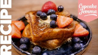 ULTIMATE FRENCH TOAST Recipe (For One!) | Cupcake Jemma