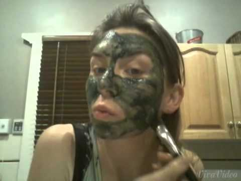 how to make spirulina mask