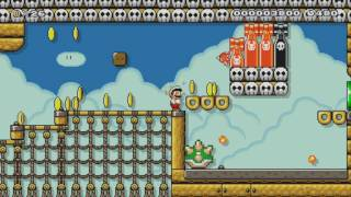 A course free to download ;-) by Cash ~ NEW WORLD RECORD ~SUPER MARIO MAKER~ NO COMMENTARY