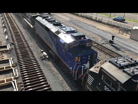 Railfanning Roanoke, VA 5/26/17 and 5/28/17