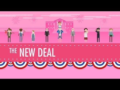 The New Deal: Crash Course US History #34 - YouTube