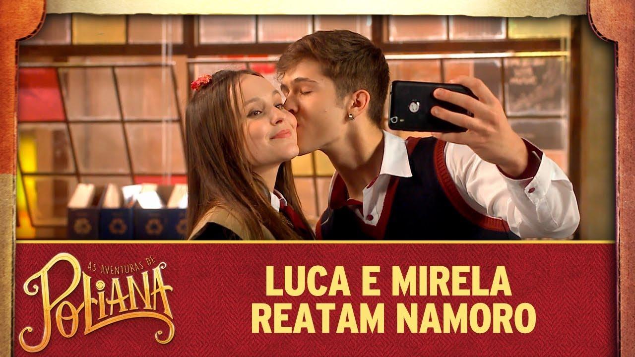 Luca e Mirela reatam namoro | As Aventuras de Poliana