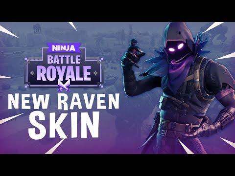 New Raven Skin!! - Fortnite Battle Royale Gameplay - Ninja