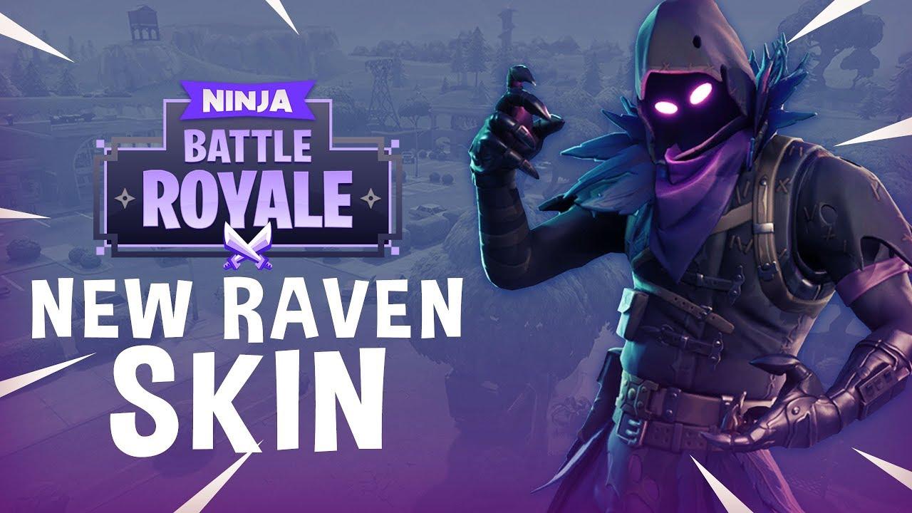 New Raven Skin Fortnite Battle Royale Gameplay Ninja