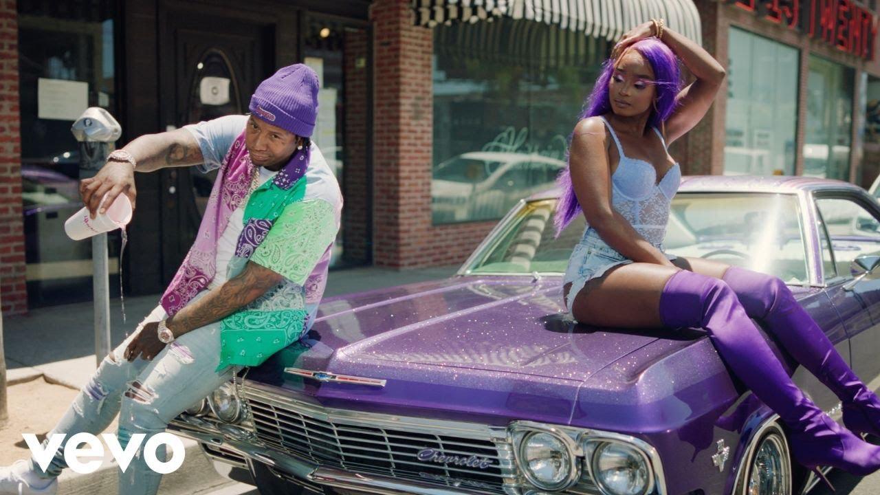 "Moneybagg Yo drops a creative visual for single ""Wockesha"""