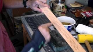 Part 7-11: Basket Weave Stamping a Leather Belt