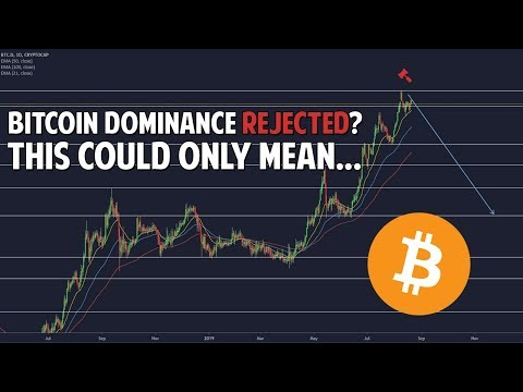 Bitcoin Dominance Rejected?! This Could Only Mean 1 Thing...