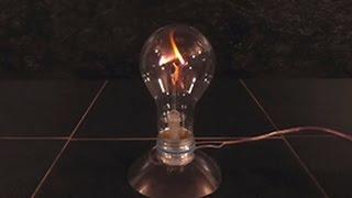 Что будет если подключить Лампочку к напряжению 10 000в