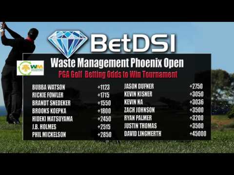 The Waste Management Phoenix Open Odds