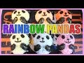 [Cooking Toy] Rainbow Rice Pandas