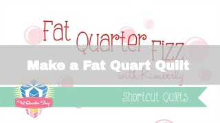 Fat Quarter Fizz - Shortcut Quilts Series - Fat Quarter Shop