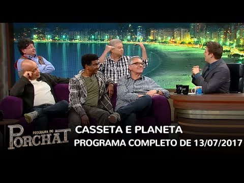 Programa do Porchat (completo)   Casseta & Planeta (13/07/2017)