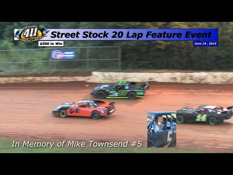 411 Motor Speedway Street Stocks 6 19 15